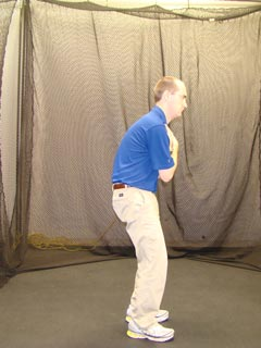 Fitgolf Golf Fitness Handicap - test d'inclinaison du bassin